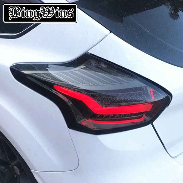Car Styling Tail Light For Ford Focus Hatch Back Taillights 2017 Full Led