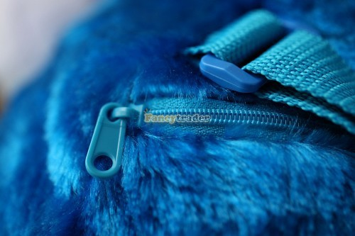 Fancytrader 15\'\' 36cm Copyrighted Plush Stuffed Cookie Monster Shoulder Bag, Free Shipping FT90380 (8)