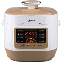 LK1741 Square Safety Rice Cooker Reservation &Timed Pressure Cooker with 1 Liner Pot 7 Gear Pressure Adjustment 2.5L LCD Display