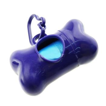 Plastic Storage Waste Box with Bags Pet Supplies Pet Toilet Color: Purple Size: One Size