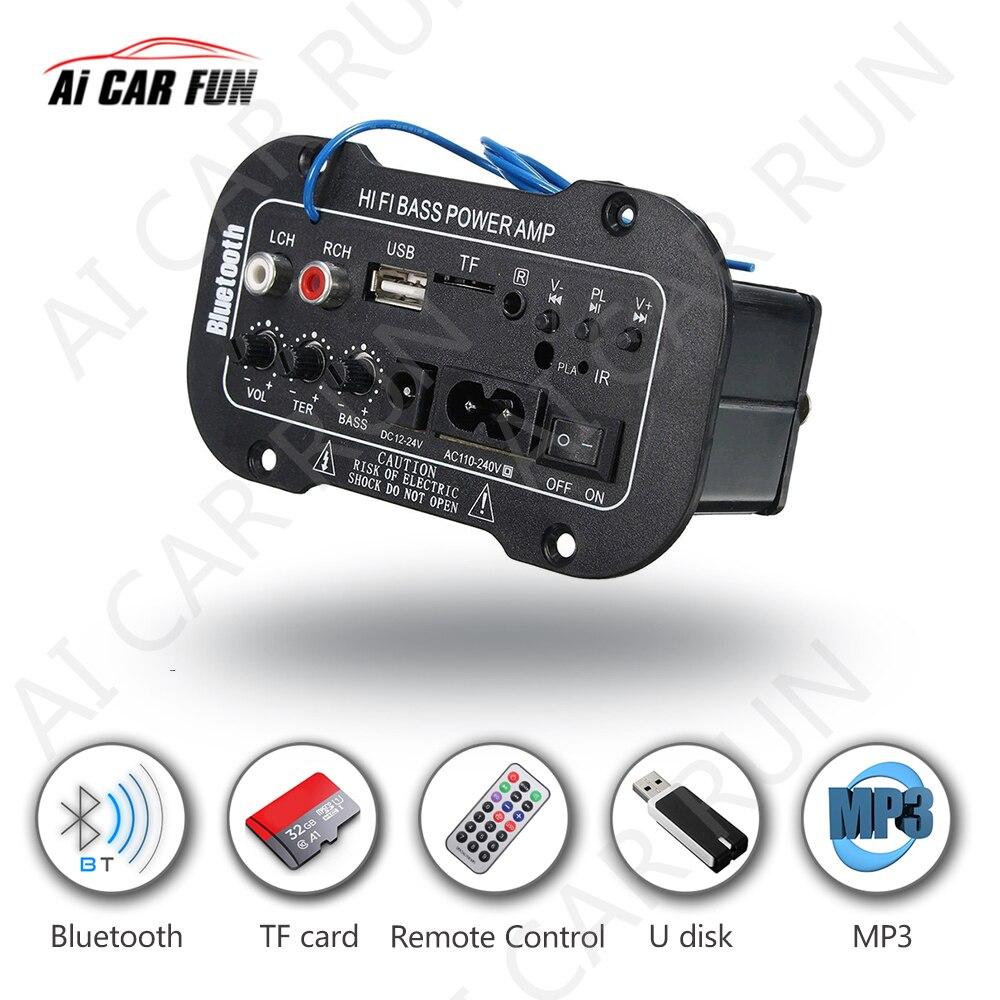 5 Multi-Функциональная карта цифровой Bluetooth дома автомобильный усилитель Bluetooth HiFi бас Мощность AMP