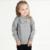 Campure Tire Enfant 2016 Nuevos Bebés Del Arco Tridimensional Niñas de Manga Larga de Punto Suéter de Los Niños Jerseys Suéter Del Bebé