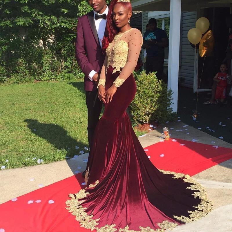 Velvet prom dress uk