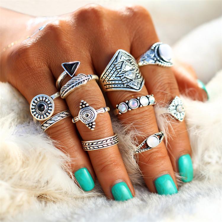 HTB1cmrMRXXXXXbFaXXXq6xXFXXX5 Tribal Fashion 10-Pieces Vintage Midi Ring Set With Opal Stones - 2 Colors