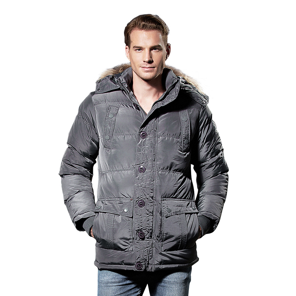2017 Winter New Arrivals Thick Warm Fur Hooded Parkas Plus Size Men Jacket Coats free shipping winter parkas men jacket new 2017 thick warm loose brand original male plus size m 5xl coats 80hfx
