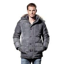 2017 Winter New Arrivals Thick Warm Fur Hooded Parkas Plus Size Men Jacket Coats