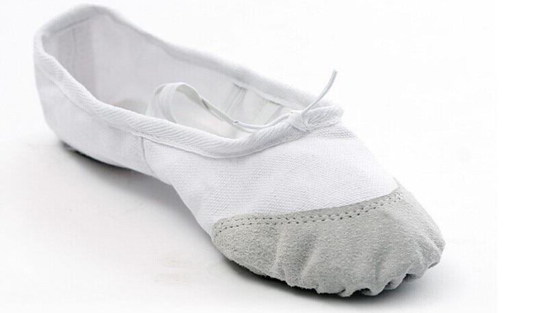 Ballet Dance Dancing Shoes Pointe For Children Kids Girls Women Soft Flats Shoes