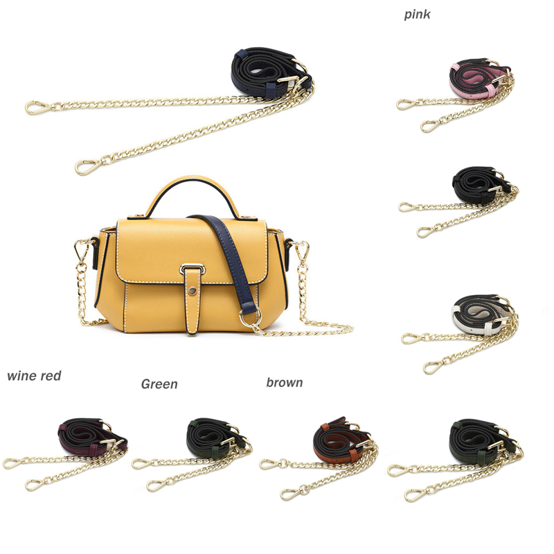 Three Colors Bag Strap Diy Shoulder Handbag Accessories Purse Frame Bag Straps Metal Chains Ornament Bag Hanger Chains Handle We Take Customers As Our Gods Luggage & Bags