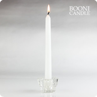 Candle petals transparent glass mousse rod candle table