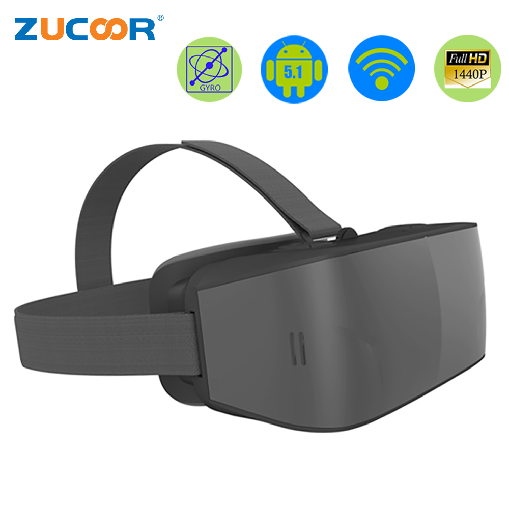 Todo En Uno VR 3D Gafas de Realidad Virtual Inmersiva T08 Android Casco Movie Ga