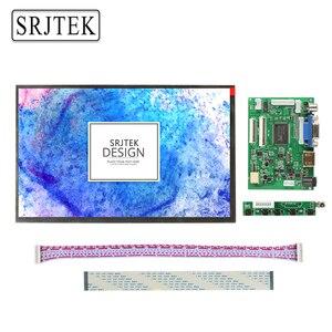 Srjtek 10.1 IPS for Raspberry Pi Monitor 1280*800 TFT EJ101IA-01G HD LCD Display Remote Driver Board HDMI 2AV VGA for Raspberry(China)