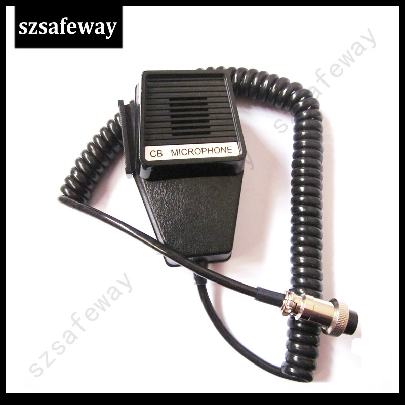CB Microphone For Mobile Radio With Aerial Plug 4 Pin Cb Microphone Free Shipping