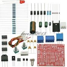 0 30V 2mA 3A bezstopniowo regulowany zasilacz regulowany DC zestaw DIY zabezpieczenie przed zwarciem