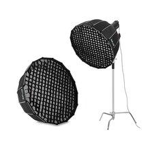 Selens, 90 см, 120 см, 150 см, 190 см, сотовая сетка для фотосъемки, софтбокс, рассеиватель, Nikon, Canon, скоростной светильник, Fotografia, светильник, коробка