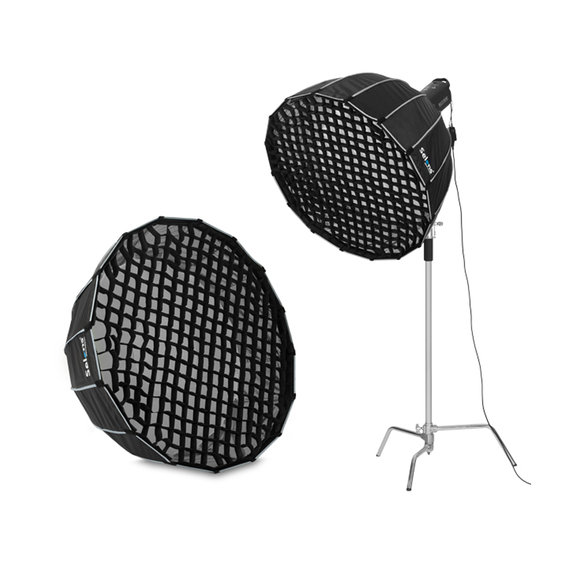 Selens 90cm 120cm 150cm 190cm Photographie Nid d'abeille Grille Pour Flash Softbox Diffuseur Nikon Canon SpeedLight Fotografia Light Box