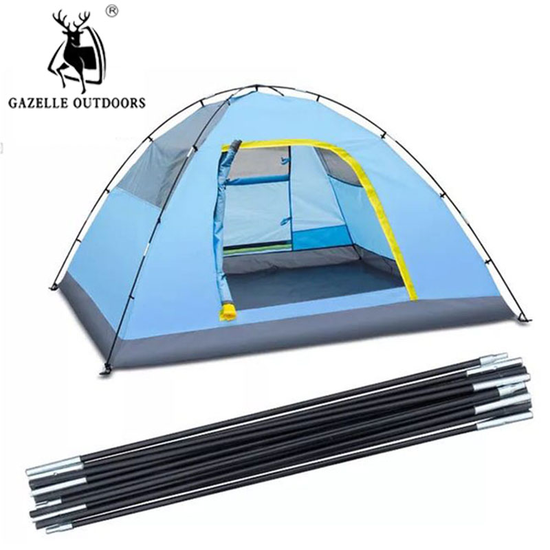 Outdoor C&ing Lightweight Tent Pole Rod Bar Skeleton Spare Tool Spare Tent Supporting Pole Accessories Canopy Iron Tent Rod -in Tent Accessories from ...  sc 1 st  AliExpress.com & Outdoor Camping Lightweight Tent Pole Rod Bar Skeleton Spare Tool ...
