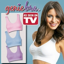 f7b3c1ae932c3 (3 PCS lot ) Genie Bra with removable pads Women s Two-double wireless