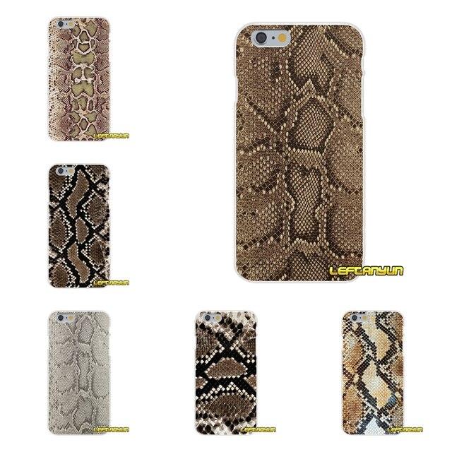 Transparente TPU casos de la cubierta para Samsung Galaxy S3 S4 S5 MINI S6 S7 borde S8 S9 Plus nota 2 3 víbora serpiente oro amarillo 4 5 8 pitón