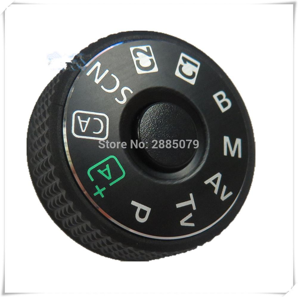 Mode Dial Top Cover Plate Nameplate Cover Button for Canon EOS 6d Mark II 6d2 Digital Camera Repair