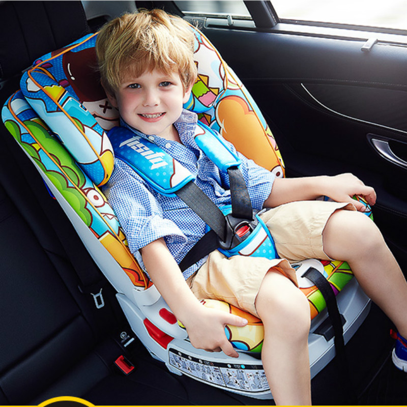 Fashion High Quality Soft Baby Car Seat Luxury Bright Colorful Baby