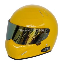 Карден долгий срок службы аккумулятора автомобильный стерео Bluetooth шлем мотоциклетный шлем Стеклопластик шлем ATV-5 темно-желтый