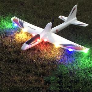 Image 3 - RC samoloty USB ładowania elektryczne ręcznie rzucanie szybowiec DIY Model samolotu ręcznie uruchomienie rzucanie szybowiec zabawki dla dzieci 2