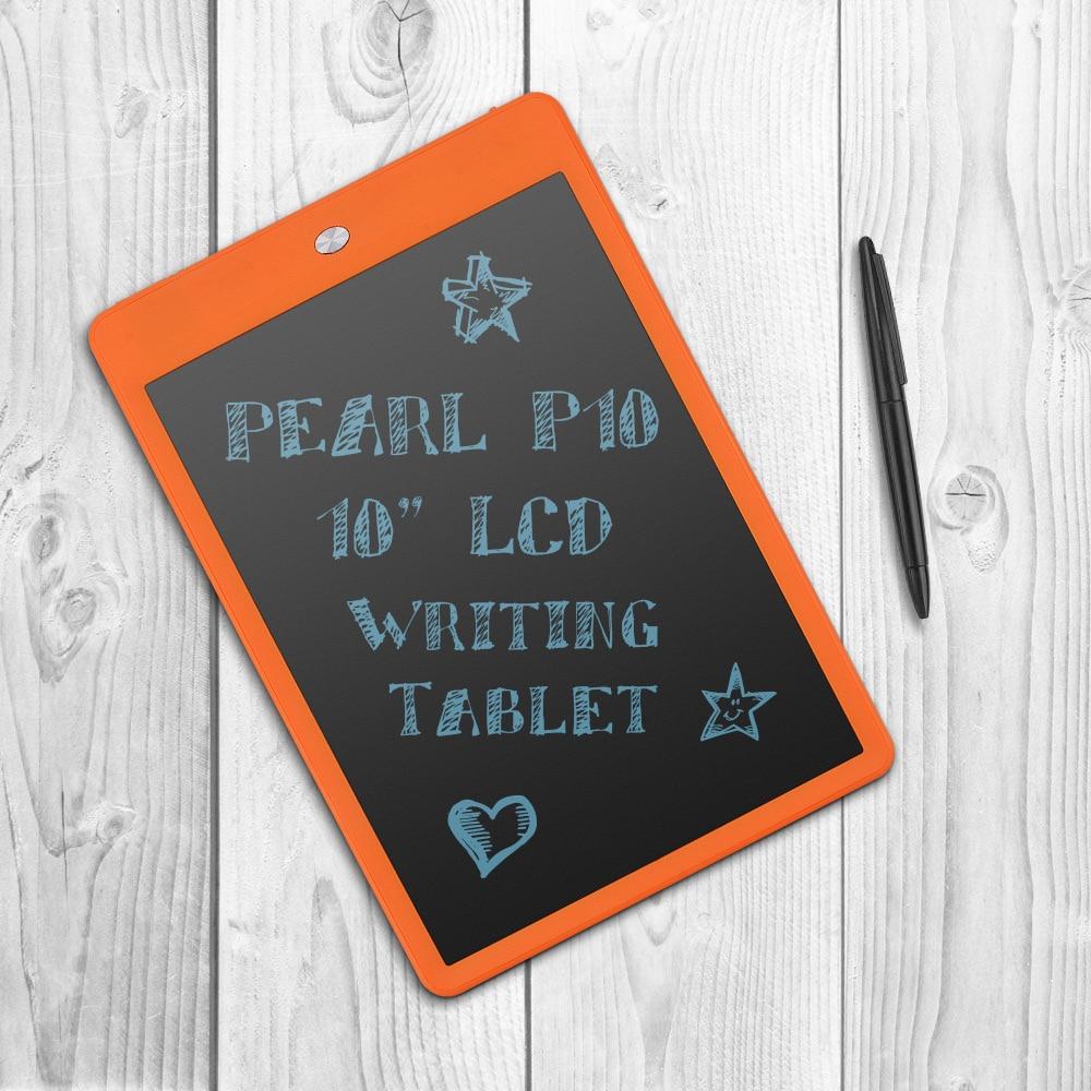 Parblo Perle P10 10 LCD Tablette Planche à Dessin Numérique Sans Papier Bloc-Notes Réécrit Pad pour Tirage Note Mémo Rappeler Message