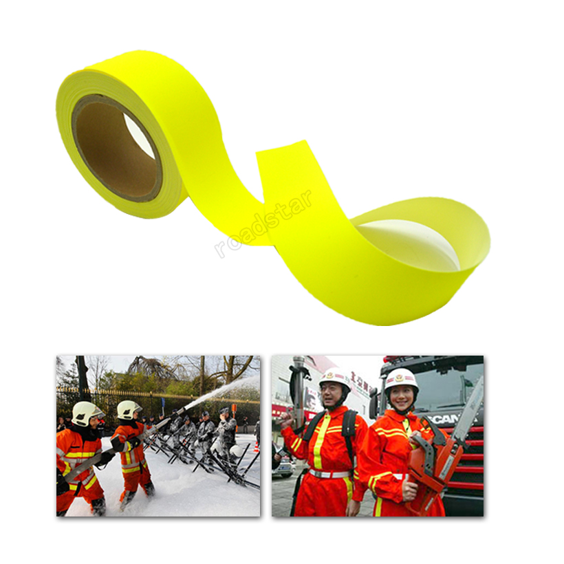 Reflective Warning Tape with EN469 Certification for Workwear Free shipping