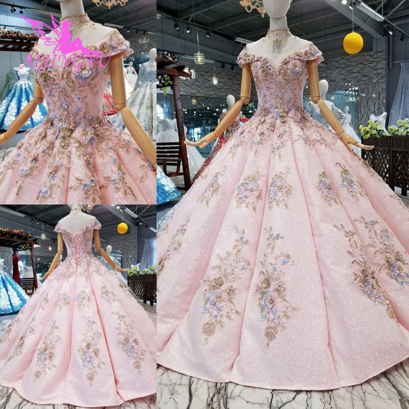 Classic Wedding Gowns 2018: AIJINGYU Marriage Gown Dress Gowns Online Sale China