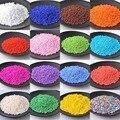 18 цветов, 2/3 мм, 1000/500 шт., чешское стекло, зеркальные бусины, однотонный спейсер BLSS03X