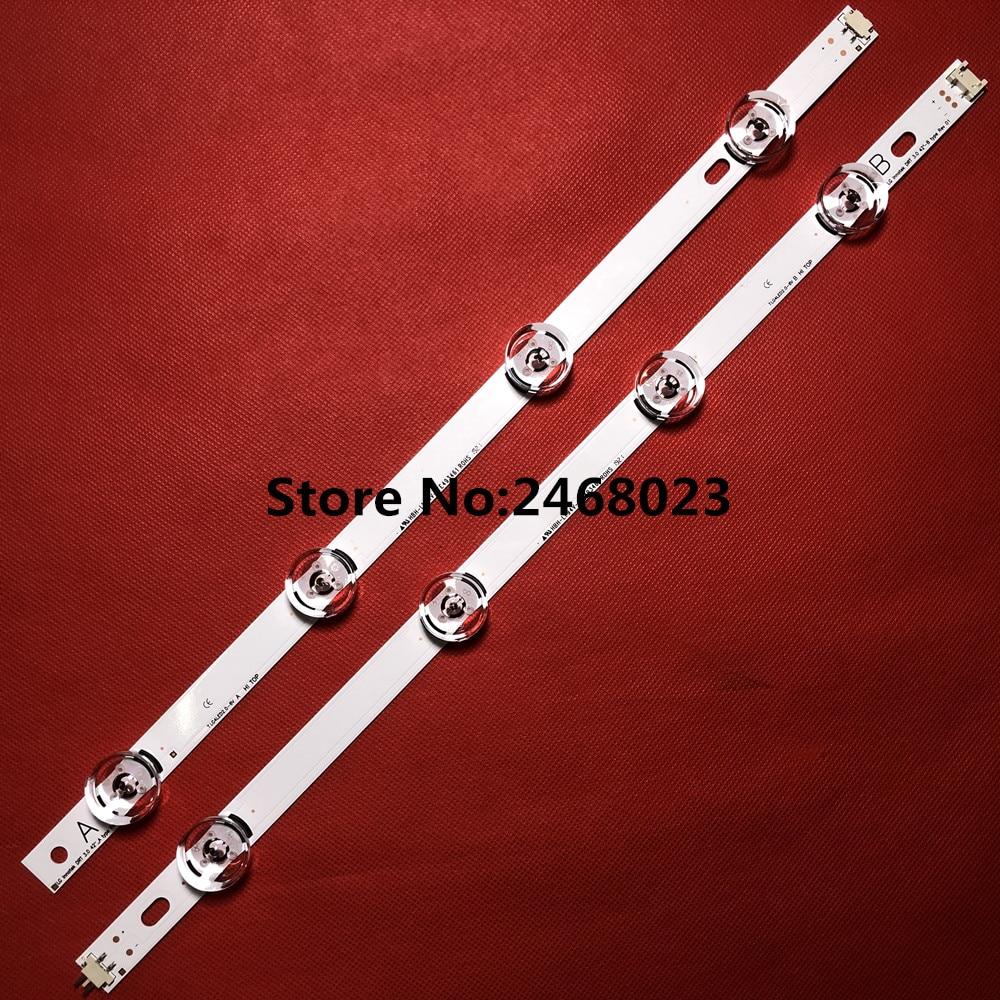 100% New-0riginal 8 PCS/set LED backlight strip bar for LG LC420DUE 42LB3910 INNOTEK DRT 3.0 42 inch A B 6916L-1709A 6916L-1710A