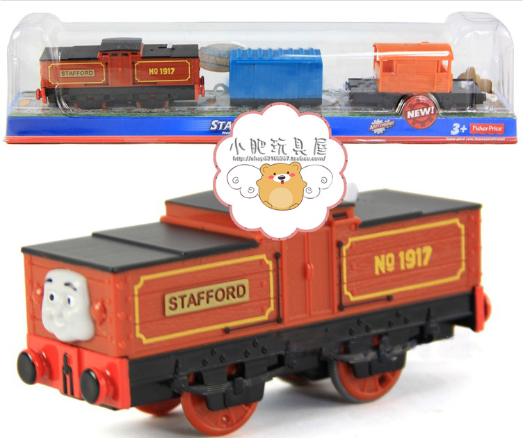 US $40 0 |NEW! Thomas & Friends Trackmaster STAFFORD 1 Engine With 2 trucks  In ORIGINAL BOX-in Diecasts & Toy Vehicles from Toys & Hobbies on