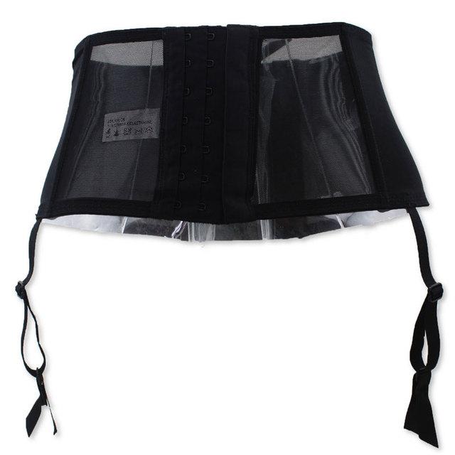 Bandage Garter Belts For Women Black High Waist Suspenders for Stockings Gauze Intimate Jartiyer Sexy Lady Lingeries Wedding