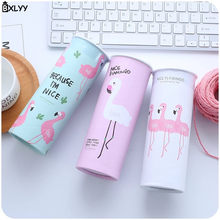 BXLYY Cylinder Car Paper Printing Paper Towel 3 Layers Flamingo Disposable Paper Towel Party Decoration Kitchen Baby Shower.7z(China)