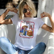 Funny Aesthetics Print Short Sleeve T-Shirt RK