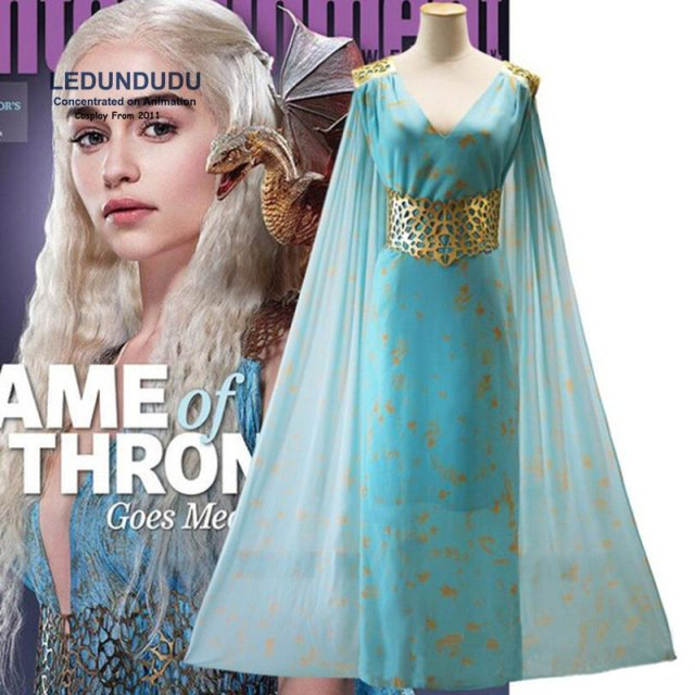 a song of ice and fire game of thrones daenerys targaryen dresses