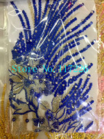 prettyJRB-42303 nigerian lace fabric flower embroidered lace african french tulle net lace fabric with stones beads