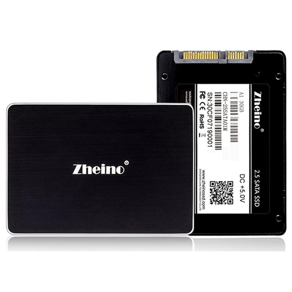 Zheino 2.5 SSD 120 GB 30 GB 32 GB 60 GB 64 GB 128 GB 256 GB 480 GB 512 GB Interne Solid State Drive SATA3 240 GB SSD Pour PC Ordinateur Portable