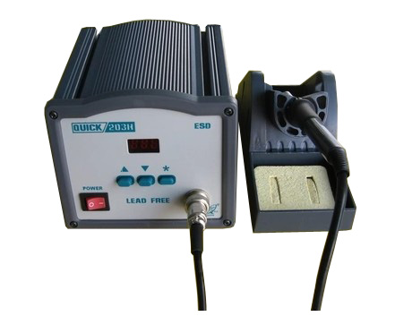 QUICK 203H unleaded soldering station lead-free soldering machine quick 203h unleaded soldering station welding machine