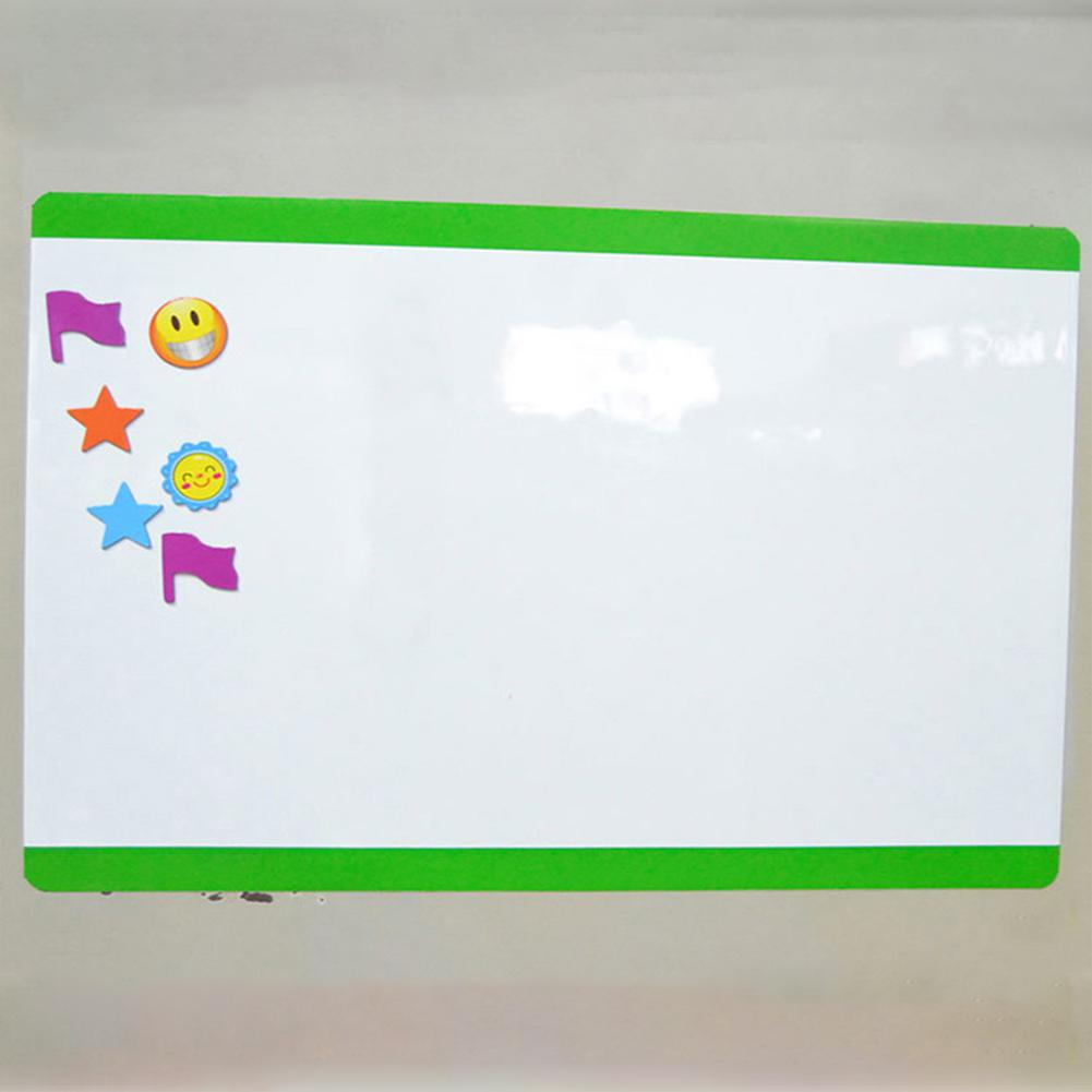 Drawing Recording Board For Fridge Refrigerator Magnetic Board A4 Soft Magnetic WhiteBoard  R20