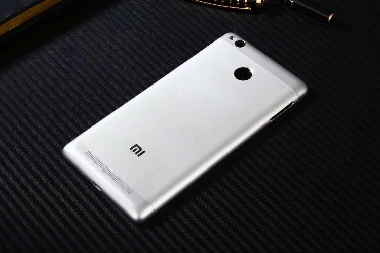 Redmi3Pro Original Housing For Xiaomi Redmi 3S 3 Pro 3Pro Metal Battery Back Cover Mobile Phone Replacement Parts Case