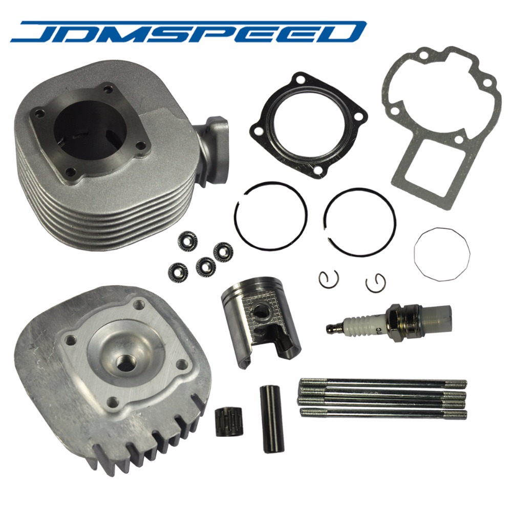 Cylinder Piston Head Gasket Ring Top End Kit for Suzuki Quadsport LT 80 87-06