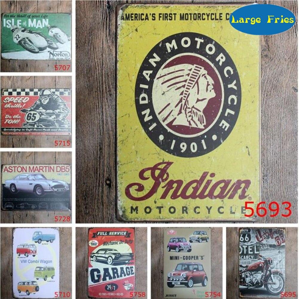 20x30cm Vintage Metall Blechschild Plaque Wand Art Poster Bar Pub Auto#1