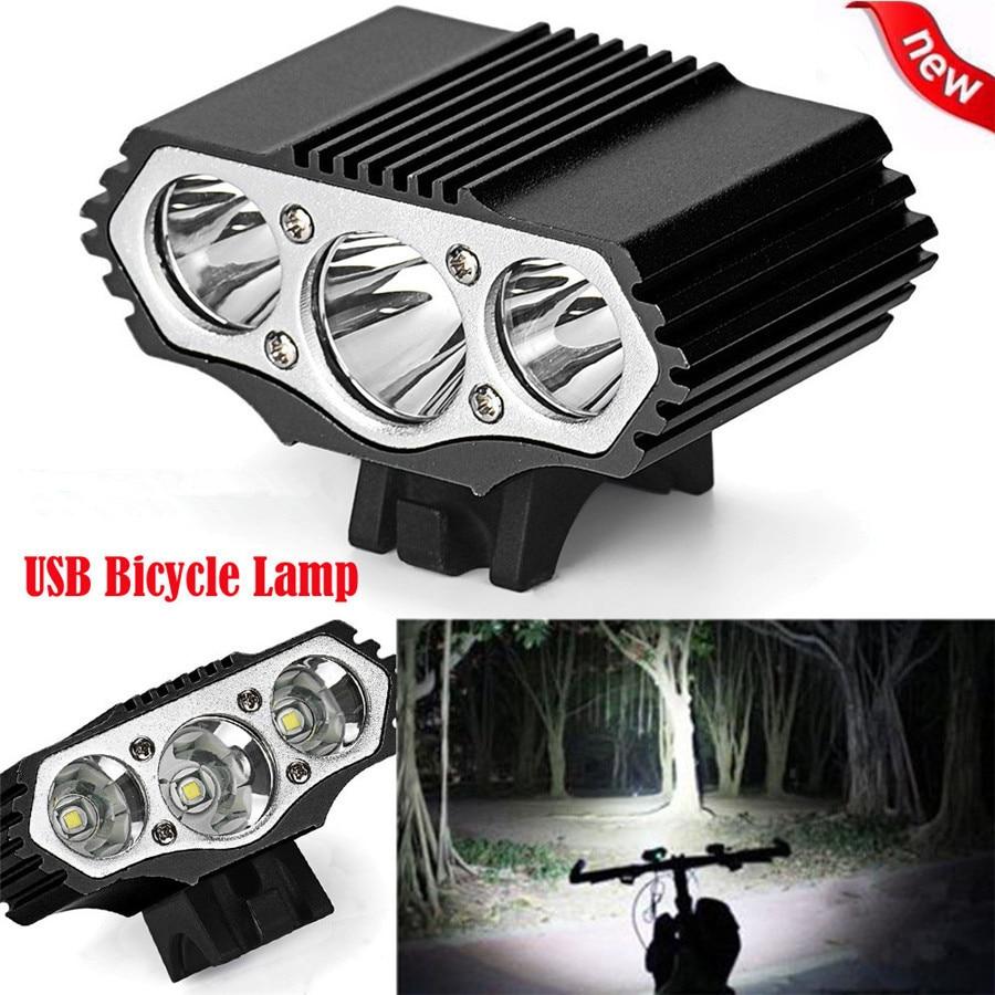 12000lm XM-L T6 LED 3 modos Lámpara de bicicleta Deporte al aire - Ciclismo