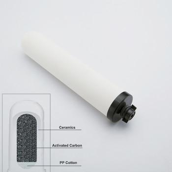 1 sztuk wkład filtra ceramiki oczyszczacz ultrafiltracji filtr wody gospodarstwa domowego pośrednie pić prosto FilterCartridge alkaliczne