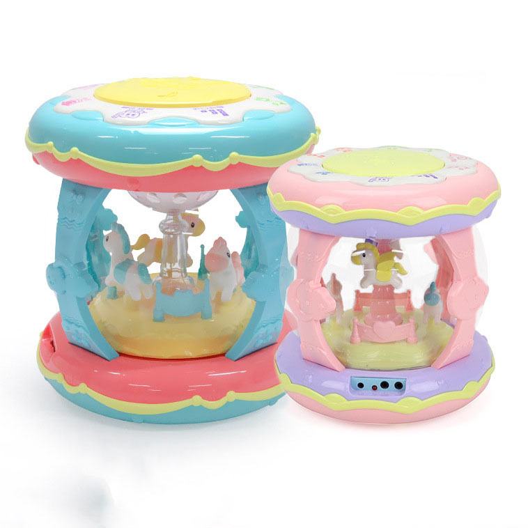 Cute Toys Exquisite Instrument Double-sided Children New Musical Educational Enlightenment TALE CARP Baby 4