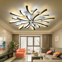 2018 Direct Selling Sale Abajur Remote Control Modern Led Lights For Bedroom Dandelion Ceiling Lamps Acrylic Body Lamp Living