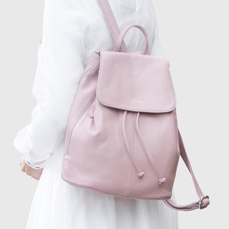 boyatu mochila feminina genuíno mulheres Handle/strap Tipo : Soft Handle