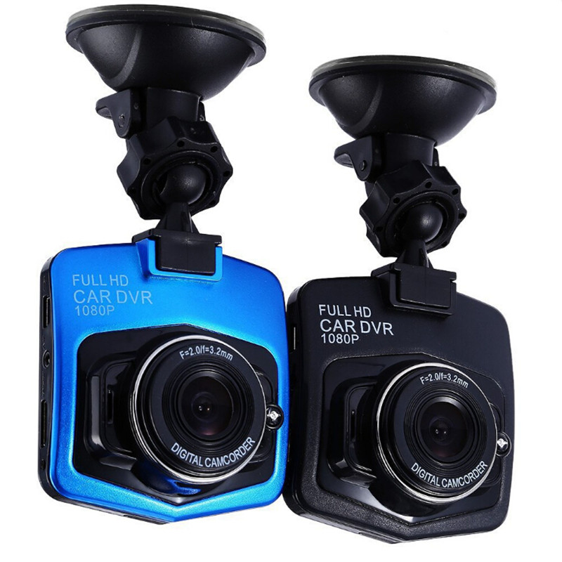 Full HD 1080P Car DVR GT300 DVRs Dual Cameras Video Recorder With Rear Night Vision Camcorder Dashcam