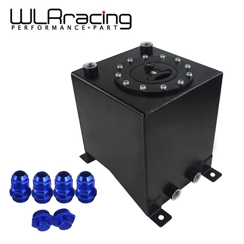 WLR RACING 2,5 галлон 10L алюминиевый гоночный Дрифт топливный корпус с топливными элементами топливный бак без уровня передатчик 210*215*225 мм WLR TK13